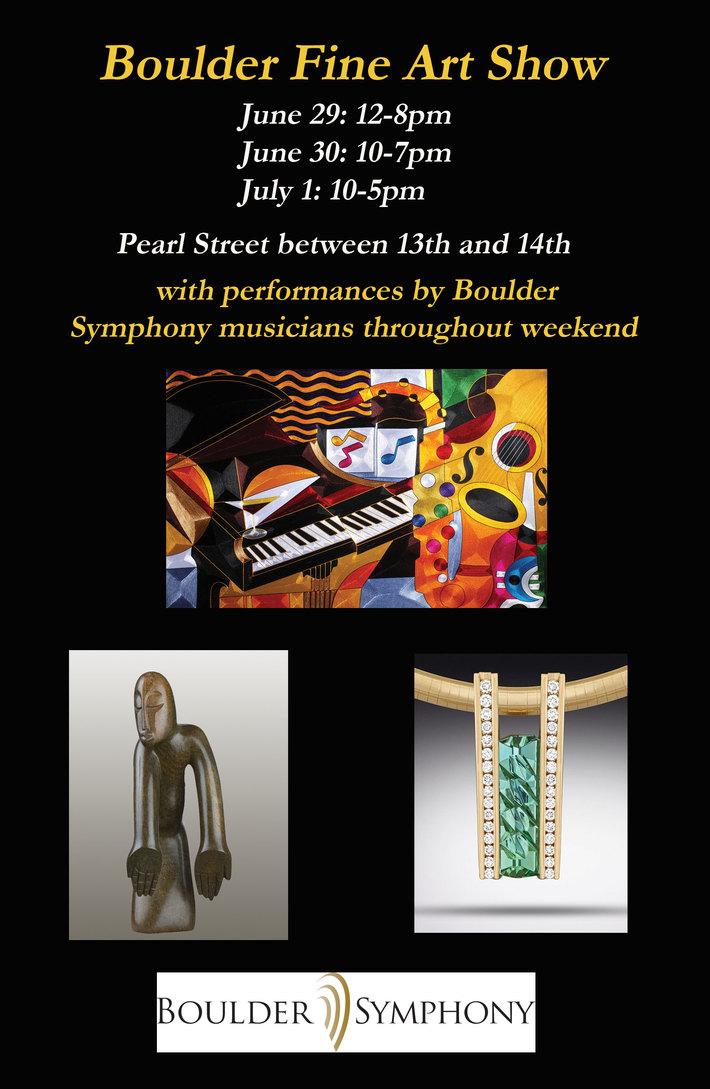 Boulder Fine Art Show is coming !