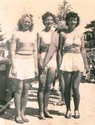 """""""Goldraiders Miss Portland"""" 1950s"""