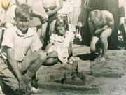 """""""Goldraiders"""" sandcastle competition"""