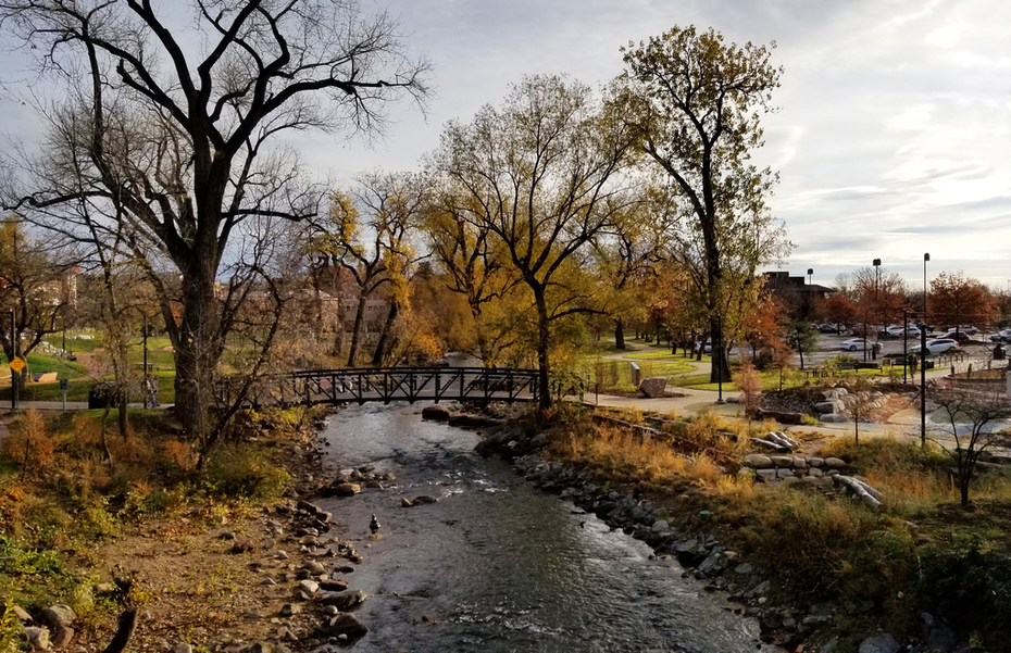 Beautiful Boulder Creek, November 2018