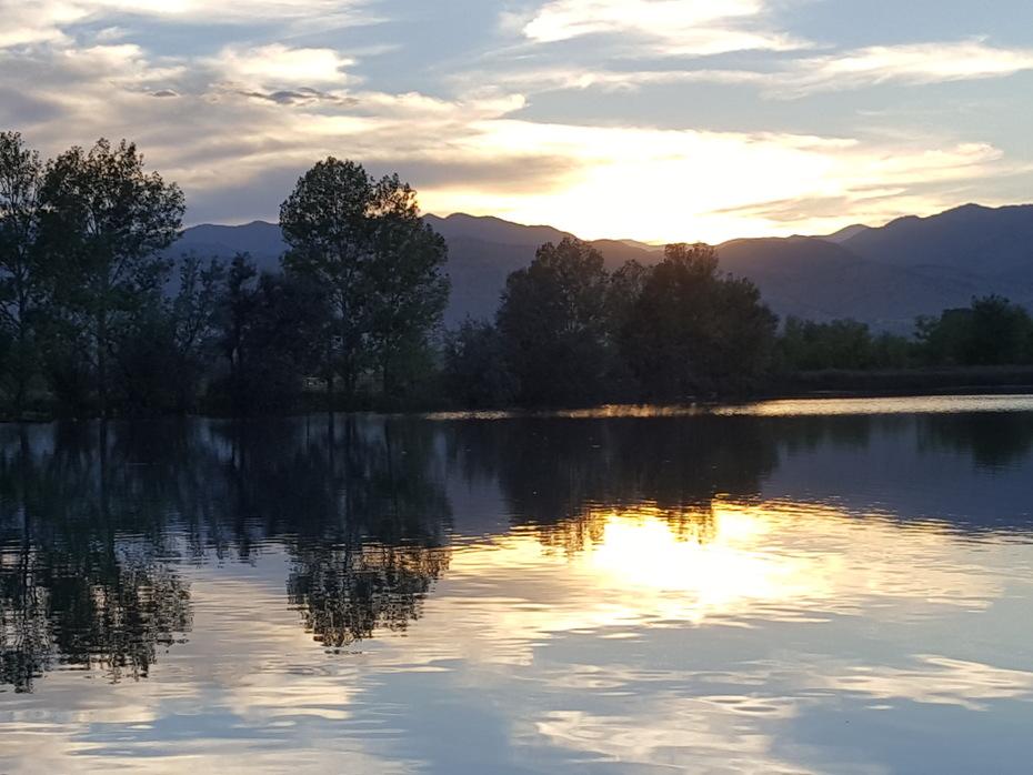 Coot Lake sunset