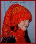 jellybean scarf n hat
