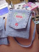 Little jean purse