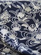 kimono fabric closeup