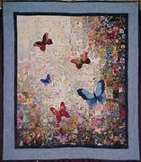 Colorwash Butterfly Quilt