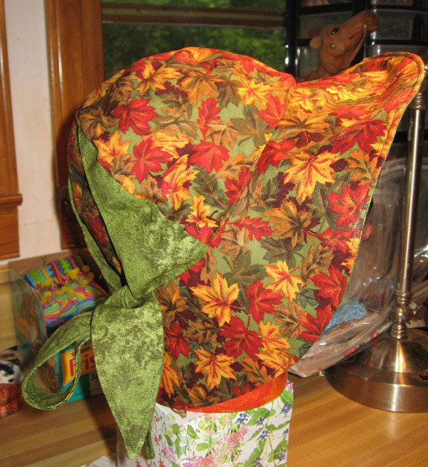 Autumn Leaves Hat