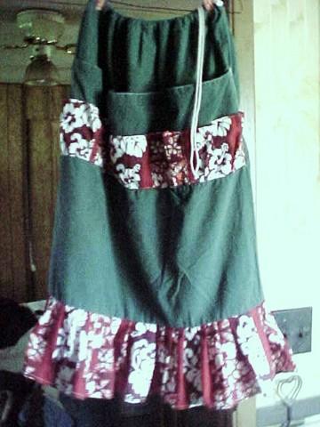 Laundry Bag Apron Skirt