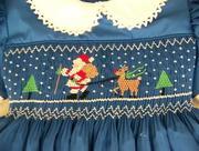 Smocked Holiday Dress
