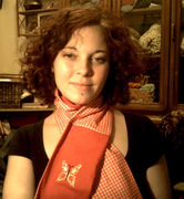 Red Gingham Scarf 2