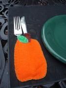 Pumpkin Pocket Placemat