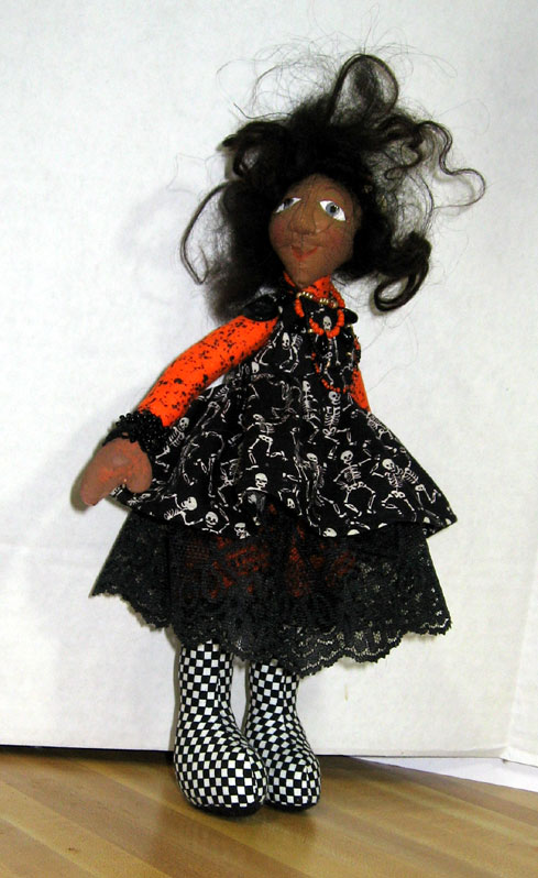 Halloween Snippet Doll