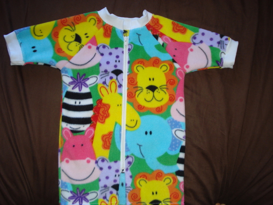 Zoo Robe for my Grand Daughter