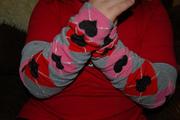 Valentine Infant Baby Toddler Tween Legwarmers Arm Warmers