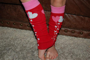 Valentine Infant Baby Toddler Tween Legwarmers Arm Warmers
