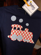 Custom Train Applique Tshirt or Onesie