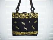 Jungle print bag