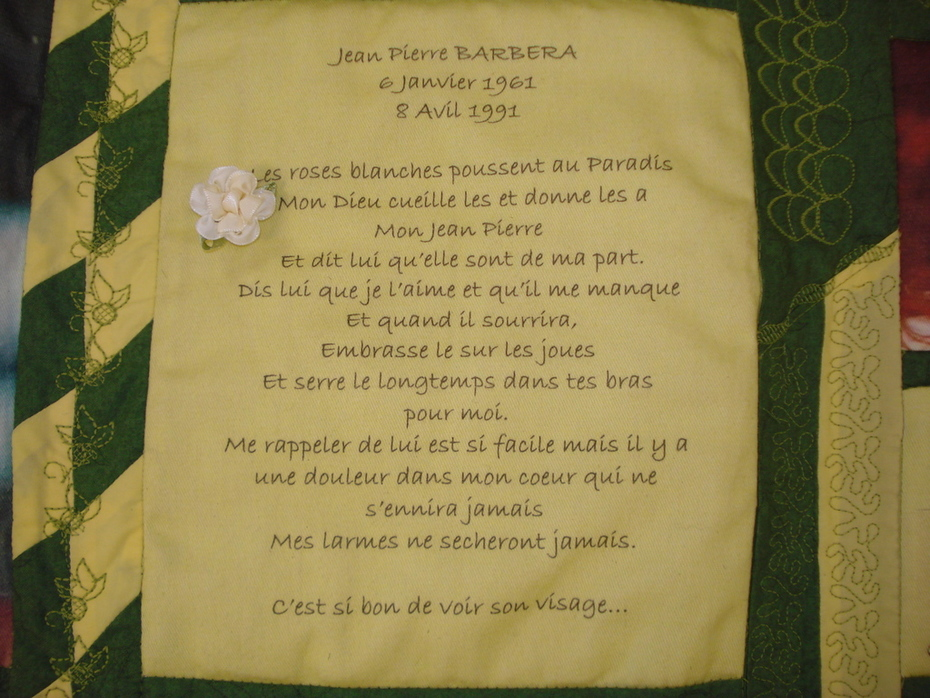 French poem for him