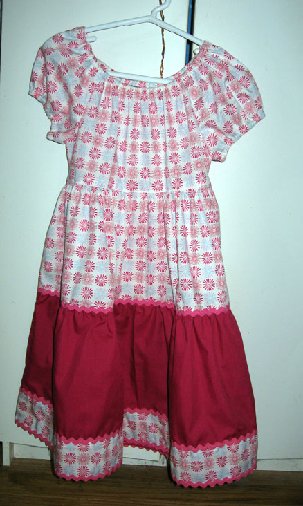 Emma's Peasant Dress
