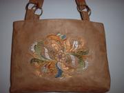 Ultra Suede handbag