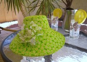 shady lady lime green & pink flowers2