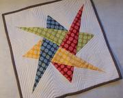 Mini Quilt - Interlaced Star