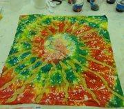 ARROWMONT sunburst piece