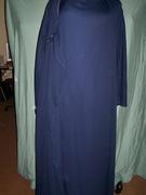 front of wrap fron abaya