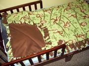 Granny's monkey man's bed.....
