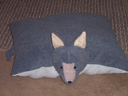 Wolf Zoo Baby Pillow Pet
