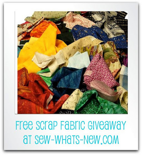 OMG Free Scrap Fabric Giveaway!
