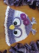 My new owl hat design