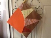 Sun ray cushion cover