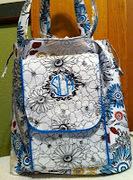 knitting bag front