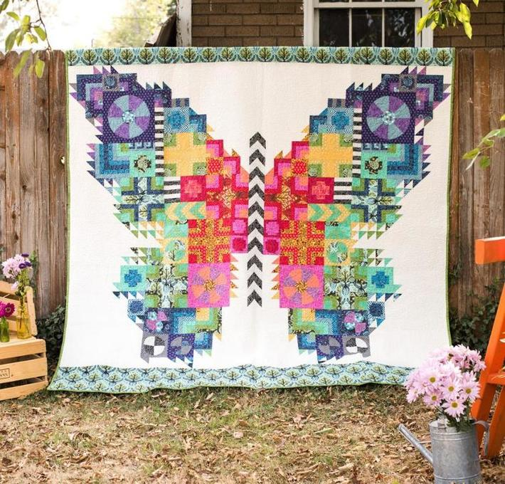 Butterfly Quilt Kit by Tula Pink