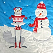 Polar Pals Quilting