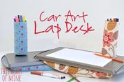 A Free Lap Desk Sewing DIY with Amy Christie