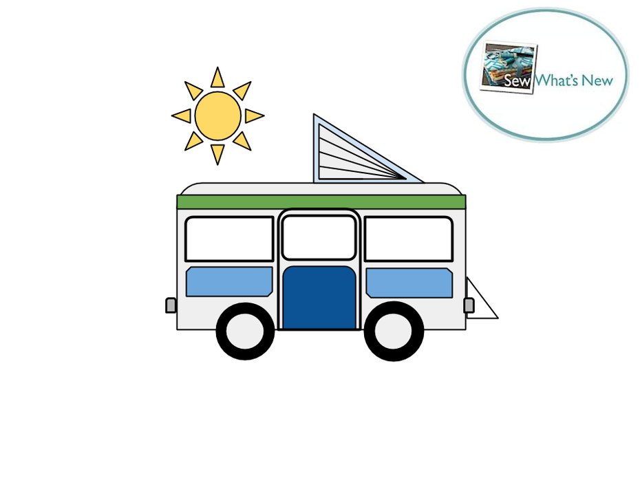 Free Camper Caravan Template - PDF