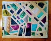 Scrap-buster - Quilted Mosaic Cushion Cover