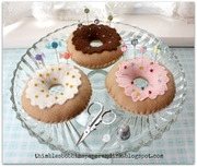 No Calorie Doughnut Pin Cushions