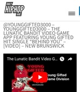 Daily HipHop Jamz Featuring The Lunatic Bandit Video Game App