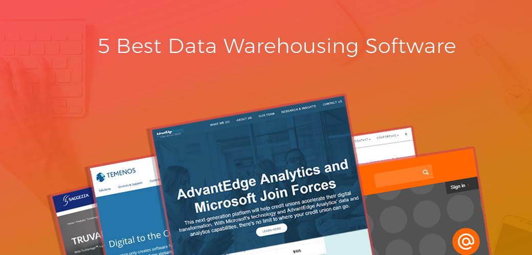 Top Data Warehousing Software - Credit Union Data Analytics