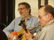 David and Pete at the 4W5 Cafe jam