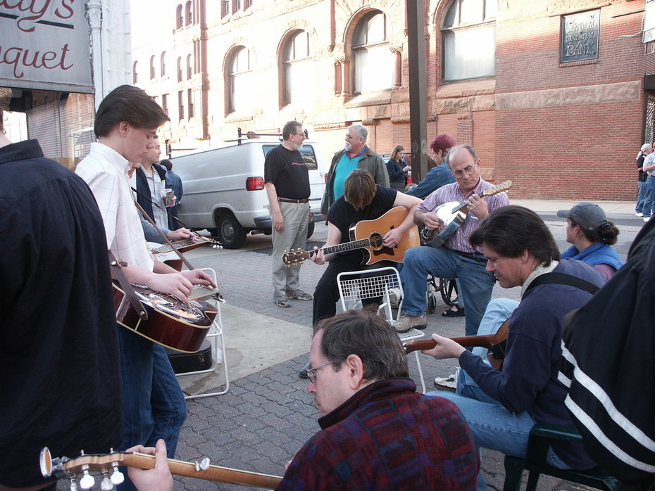 Last Jam at the 4W5 Cafe