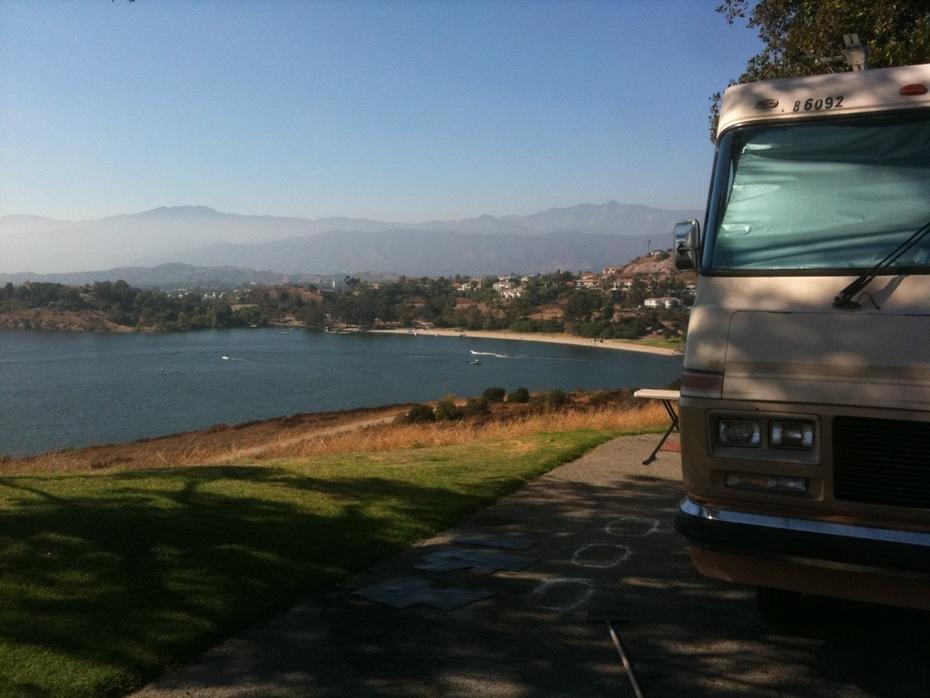 @Puddingstone lake in San Dimas CA