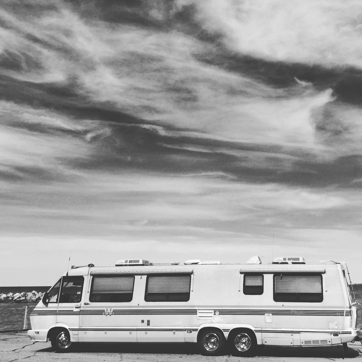 Camping on Lake Erie
