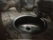 Cayo bathroom lav view