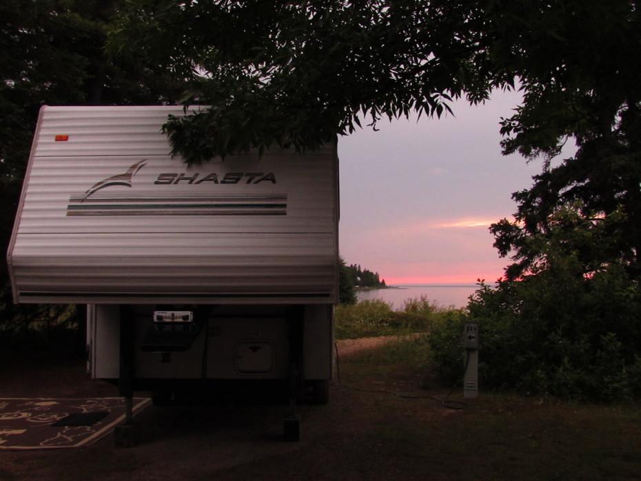 Sunset at Wilderness State Park, MI