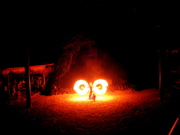 Fire Spinning Moorea