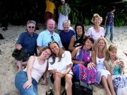 Small group photo Moorea 08