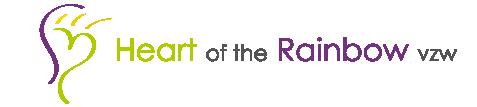 logo heart of the rainbow